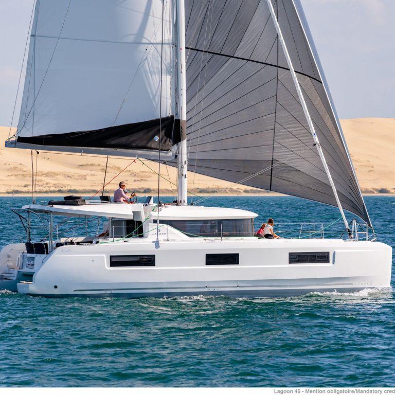 Lagoon 46 SailSterling Wine and Catamaran Tour