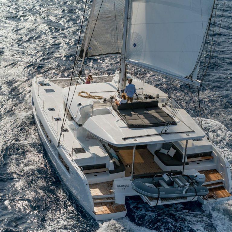 Lagoon 50 SailSterling Wine and Catamaran Tour