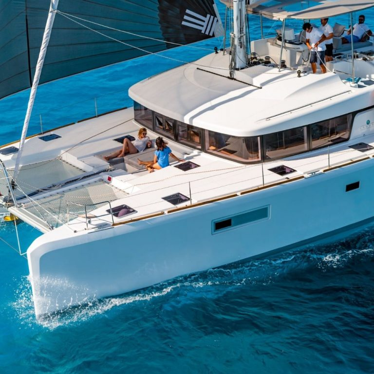Lagoon 52 SailSterling Wine and Catamaran Tour