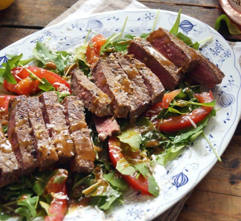 Beef Tagliata with Rucola Salad