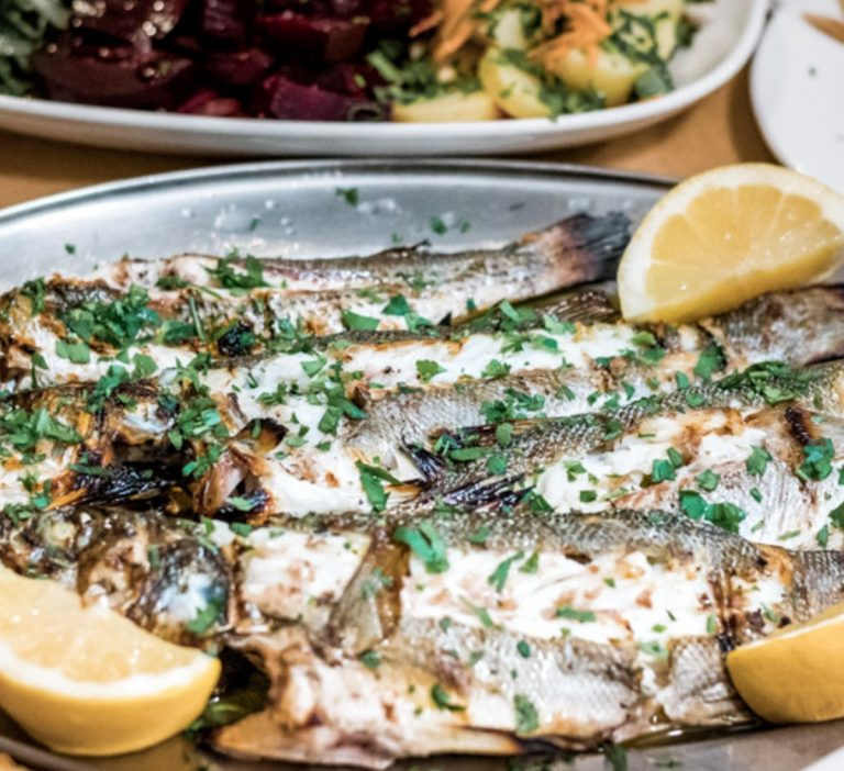 Grilled Fish From Greece